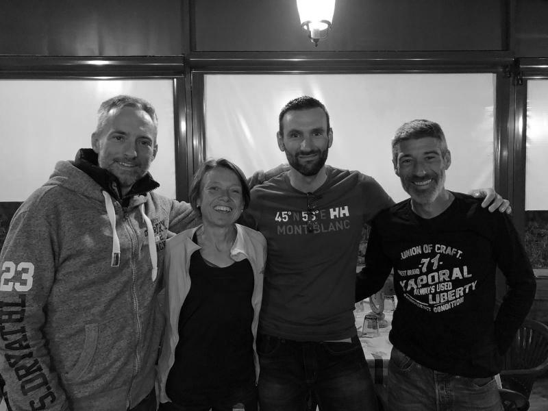 Thomas Legrain, Nathalie Mauclair, Benoît Rothan et Benoît Lançon : une belle amitié !