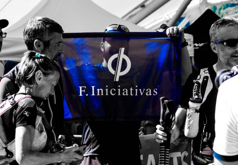 Thomas Legrain remercie son partenaire F-Iniciativas !