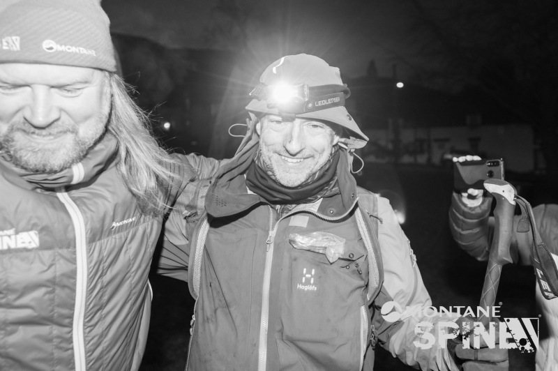Thomas Legrain Finisher de la Spine Race en janvier 2020