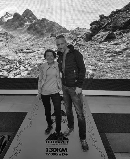 08/09/18 : Thomas Legrain et Nathalie Mauclair, le binôme est en place