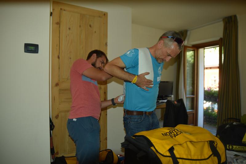 09/09/18 : Protection des épaules contre les frottements du sac à dos