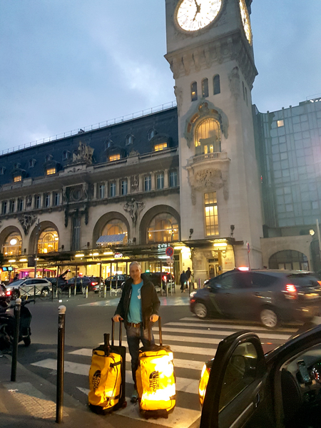 07/09/18 – Départ gare de Lyon – Direction Courmayeur