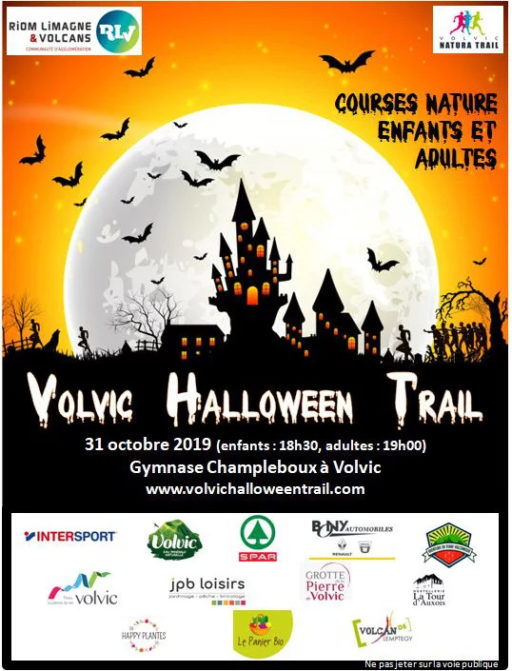 Volvic Halloween trail